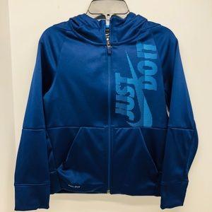 Nike Boys Therma-Fit Full Zip Fleece Hoodie Sz. S